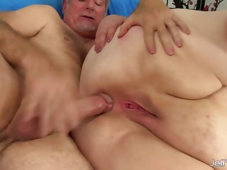 Big tasteless BBW with big ass gets ass fucked in anal action with cumshot