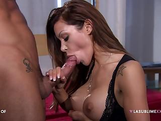 Pornstar Elena Grimaldi loves shooting anal sex scenes with this man