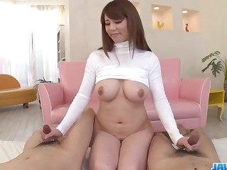 The best mad about with big tits beauty, Maki Koizumi
