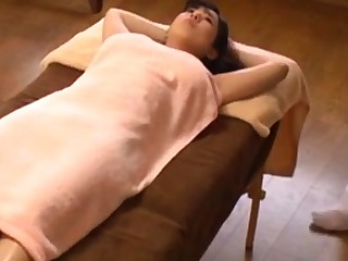 Japanese oil knead orgasm big boobs