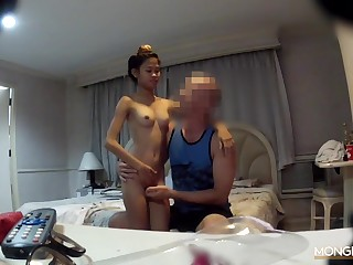 Tiny camera sex video featuring Thai hooker Natasha