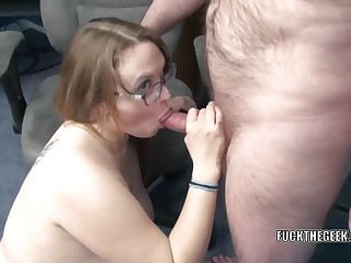 Buxom housewife Alexsis Sweet is in the cards scare the floor and getting their way big ass fucked hard